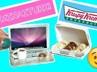 DIY miniature donuts (you can eat!) Dollhouse miniatures