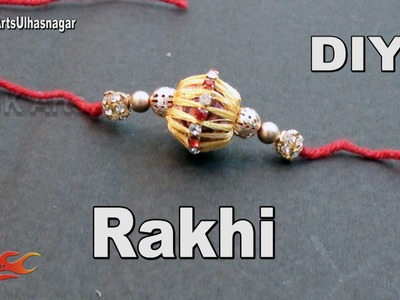 DIY Silk Thread Beads Rakhi for Raksha Bandhan | How to make | JK Arts 996