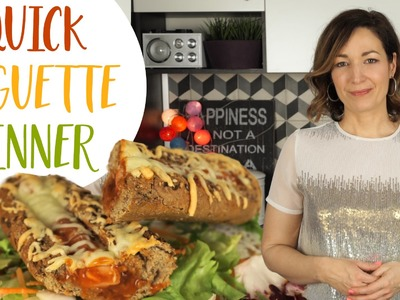 Easy Dinner Recipe | How to make a Baguette Sandwich