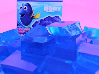 Finding Dory Ice Cube Jelly Dessert Recipe how to