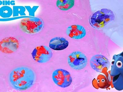 Finding Dory Slime! DIY How to Make Disneys Finding Dory Slime