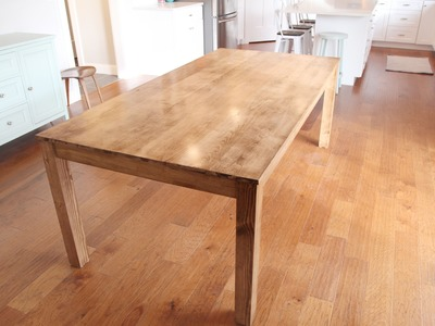 How To Build A Parsons Table
