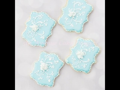 How to Create Decorative Filigree Cookies