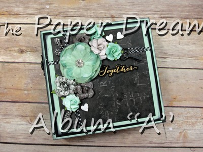 How to Embellish a 6x6 Mini Album