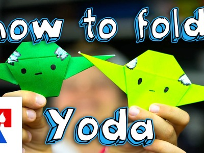How To Fold An Origami Yoda