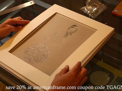 How to frame your prints and drawings with american frame and Tim Gagnon