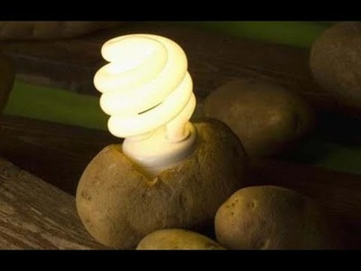 How to get electricity from potato