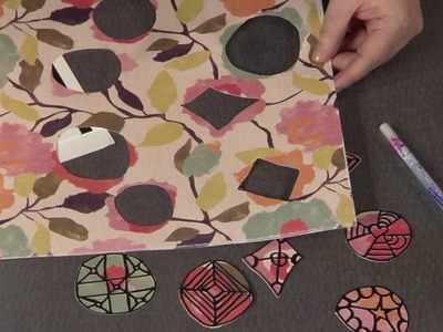 How to Glue Down Delicate Die-Cut Shapes