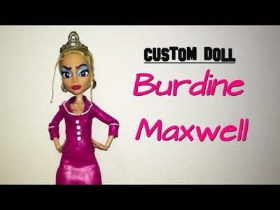 How to make a Burdine Maxwell doll (From BRATZ)