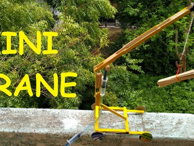 How to make a crane|very easy