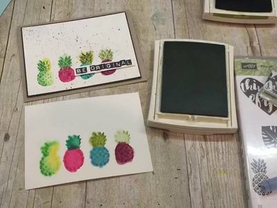 How to make a FUN Pop of Paradise Pineapple Card!