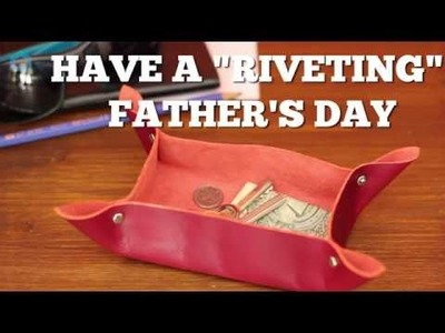 How to Make a Gift Dad Will Use Everyday - in 1 Minute!