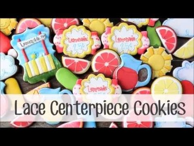 How to Make a Lace Centerpiece Cookie