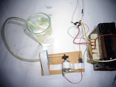 How to Make a Mini Air Pump for Home. Mini Electric Air Pump.