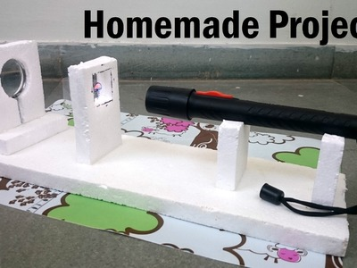 How to Make a Projector at Home - Easy Way | Science Exhibition |