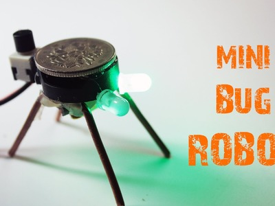 How to make a simple MINI ROBOT at home || Just5mins
