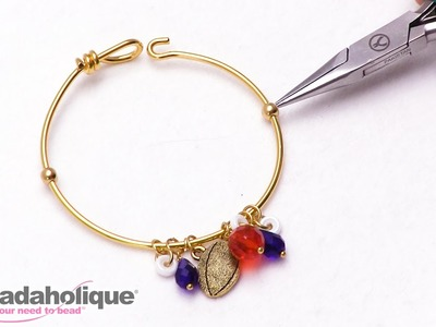How to Make a Stopper Bead on a Bangle Bracelet