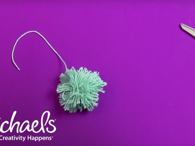 How to Make a Yarn Pom Pom | Michaels