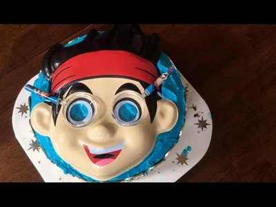How to Make an Easy Jake and the Neverland Pirates Cake