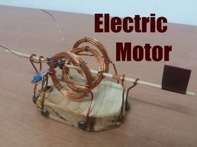 How to make an Electric Motor open fram | Tutorial