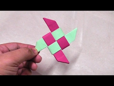 How to make an origami paper ninja star - 2 | Origami. Paper Folding Craft, Videos & Tutorials.