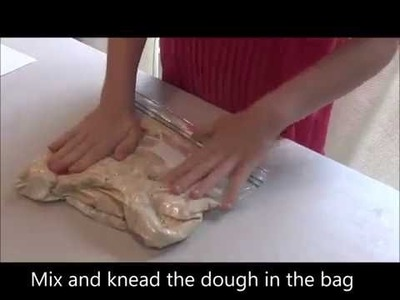 How to make bread in bag- fun recipe for kids