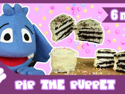 How to Make Mini Cookie Cakes Recipe | Pip The Puppet