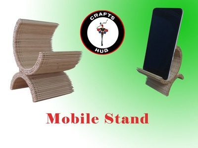 How to make mobile stand