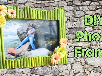 How To Make Photo Frame at Home , Handmade using Waste Material