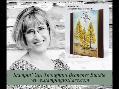 How to Make Tamarack Trees with Thoughtful Branches
