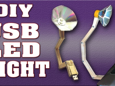 How to Make USB LED Light at Home - Homemade DIY USB LED Lamp Flash Light