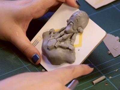 How to Make Zenyatta Medallion - Overwatch Polymer Clay Tutorial
