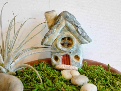 How To Sculpt A Fairy House In Polymer Clay