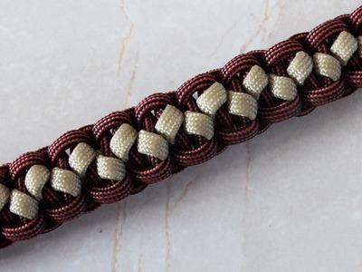 How To Tie Solomon's Pathway Solomon Bar - Paracord Survival Bracelet