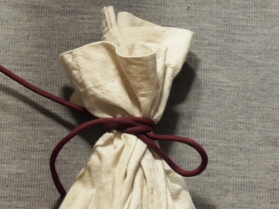How To Tie Up A Bag With A Slipped Reef Knot