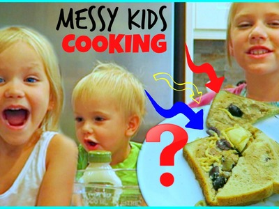 Messy Kids Cooking! How to Make Gross Tuna Sandwich Prank Mess Mondays 8 family fun life hopes vlogs