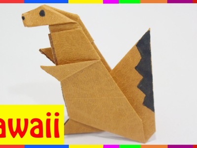 Origami Squirrel - How To Fold Squirrel ( Origami Hawaii )