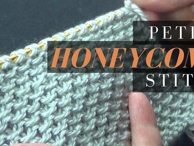Petite Honeycomb Stitch - Knitting Stitch