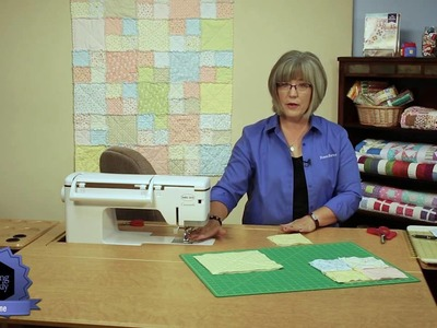 Quilting Quickly: Ragtime - How to Make a Baby Quilt with Flannels!