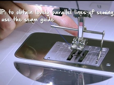 Tutorial: how to create topstitching with the BERNINA cordonnet foot no. 11