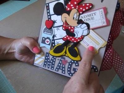 Two Disney Scrapbook Photo Albums