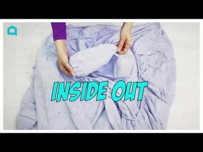 Watch How to Easily Fold a Fitted Sheet