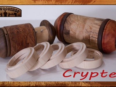 Woodturning Project How To Make A Cryptex