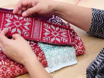Yarn Dominance, Holding Yarn, and Managing Floats in Fair Isle Knitting