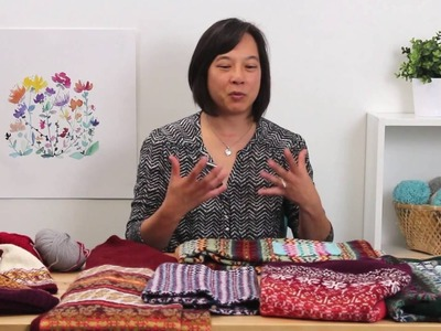 Yarn Progression and Substitution in Fair Isle Knitting
