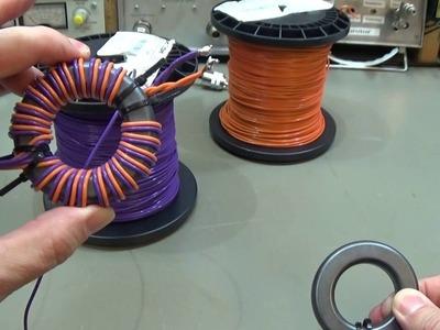 #105 Balun PART 3: How to build an effective working 4:1 Balun for 800 watt HF power