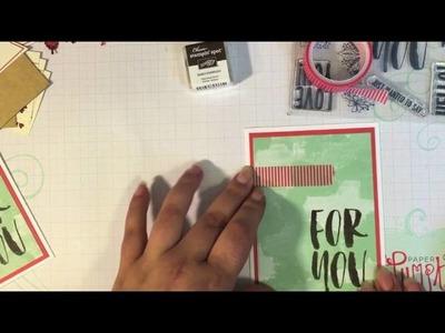 Alternate Card Idea #3: August 2016 Paper Pumpkin Kit Bold Botanicals