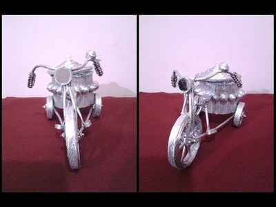 Best Out Of Waste Paper Fabulous Tricycle Container