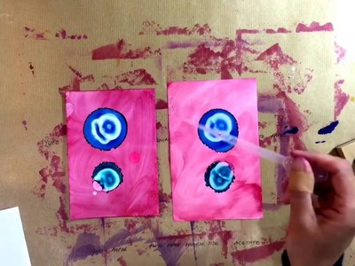 Comparing Alcohol Ink Substrates - Yupo vs Gloss Photo Paper - Very Interesting Results!!!