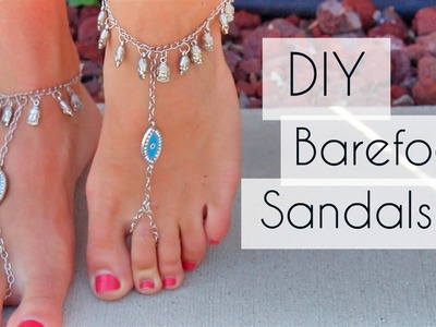 DIY | Barefoot Sandals